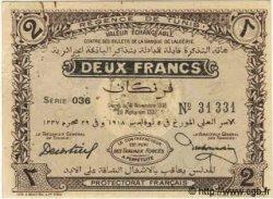 2 Francs TUNISIE  1918 P.44 SUP+