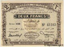 2 Francs TUNISIE  1918 P.44 NEUF