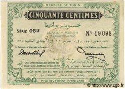 50 Centimes TUNISIE  1919 P.45a pr.NEUF