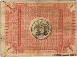 1 Franc TUNISIE  1919 P.46a TB