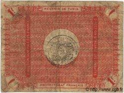 1 Franc TUNISIE  1919 P.46a B+