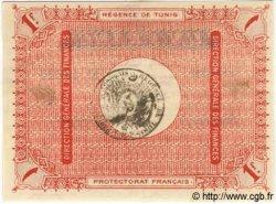 1 Franc TUNISIE  1919 P.46b pr.SUP