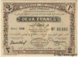 2 Francs TUNISIE  1919 P.47a SPL
