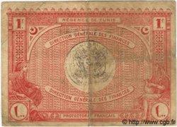 1 Franc TUNISIE  1920 P.49 TB