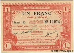 1 Franc TUNISIE  1920 P.49 SPL