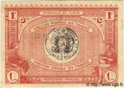 1 Franc TUNISIE  1920 P.49 SUP