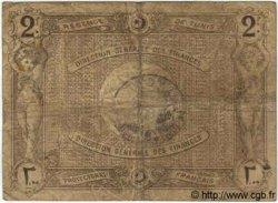 2 Francs TUNISIE  1920 P.50 B+