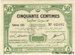 50 Centimes TUNISIE  1921 P.51 pr.NEUF