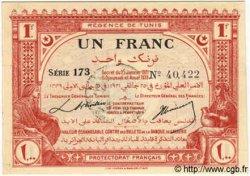 1 Franc TUNISIE  1921 P.52 pr.NEUF