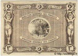 2 Francs TUNISIE  1921 P.53 TTB+