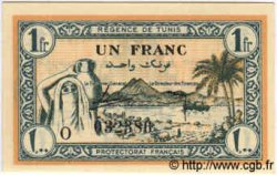 1 Franc TUNISIE  1943 P.55 NEUF