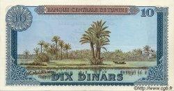 10 Dinars TUNISIE  1969 P.65 pr.SPL