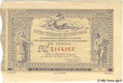 1 Franc TUNISIE  1882 P.-- pr.SUP