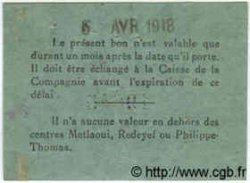 1 Franc TUNISIE  1918 P.-- SUP