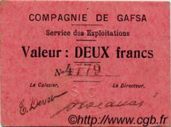 2 Francs TUNISIE  1916 P.-- TTB