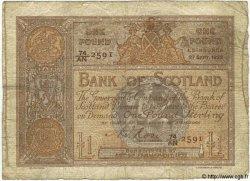 1 Pound ÉCOSSE  1922 P.081d B+