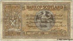 1 Pound ÉCOSSE  1939 P.091b TB
