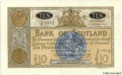 10 Pounds ÉCOSSE  1963 P.093c SUP+