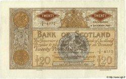 20 Pounds ÉCOSSE  1950 P.094c pr.SUP