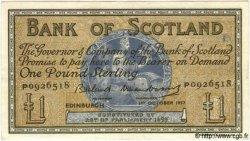 1 Pound ÉCOSSE  1957 P.100c SUP+
