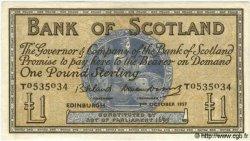 1 Pound ÉCOSSE  1957 P.100c SUP
