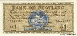1 Pound ÉCOSSE  1962 P.102a NEUF