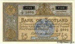5 Pounds ÉCOSSE  1961 P.103 SPL