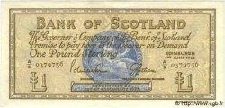 1 Pound ÉCOSSE  1966 P.105a pr.NEUF