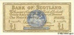 1 Pound ÉCOSSE  1967 P.105b pr.NEUF