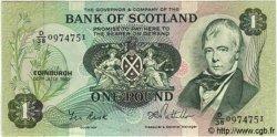1 Pound ÉCOSSE  1981 P.111e pr.NEUF