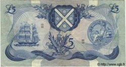 5 Pounds ÉCOSSE  1970 P.112a TTB