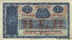 1 Pound ÉCOSSE  1928 P.156a TTB