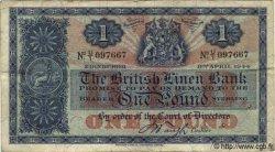 1 Pound ÉCOSSE  1944 P.157b TB