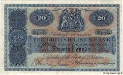 20 Pounds ÉCOSSE  1942 P.159 NEUF