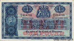 1 Pound ÉCOSSE  1961 P.162 SPL