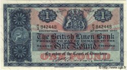 1 Pound ÉCOSSE  1961 P.162 NEUF