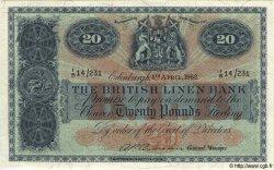 20 Pounds ÉCOSSE  1962 P.164 SPL