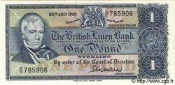 1 Pound ÉCOSSE  1970 P.169b NEUF