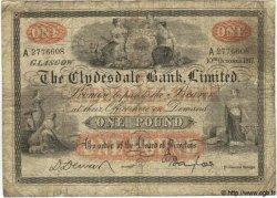 1 Pound ÉCOSSE  1967 P.181b B+ à TB