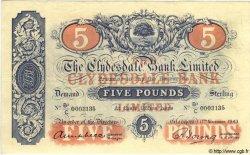 5 Pounds ÉCOSSE  1943 P.186 SUP