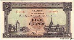 5 Pounds ÉCOSSE  1956 P.192a NEUF