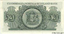 20 Pounds ÉCOSSE  1962 P.193b SPL