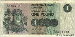 1 Pound ÉCOSSE  1976 P.204c TTB