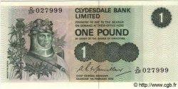 1 Pound ÉCOSSE  1978 P.204c NEUF