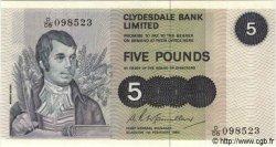 5 Pounds ÉCOSSE  1980 P.205c SPL