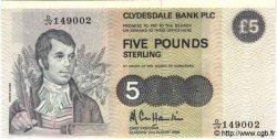 5 Pounds ÉCOSSE  1988 P.212d NEUF