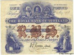 1 Pound ÉCOSSE  1908 P.316d pr.TTB