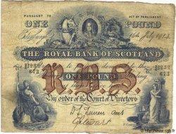 1 Pound ÉCOSSE  1914 P.316d TB