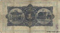1 Pound ÉCOSSE  1941 P.322a TB