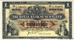 1 Pound ÉCOSSE  1953 P.322d NEUF